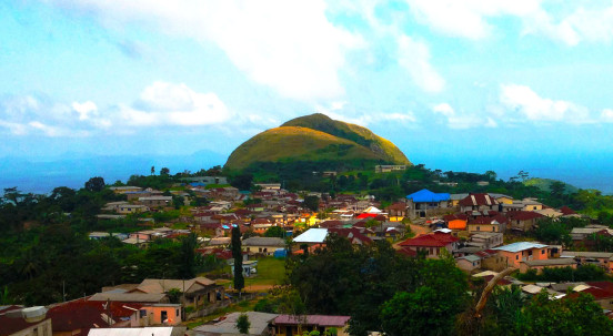 Mt.Gemi at Amedzofe village in Volta region in Ghana , West Africa