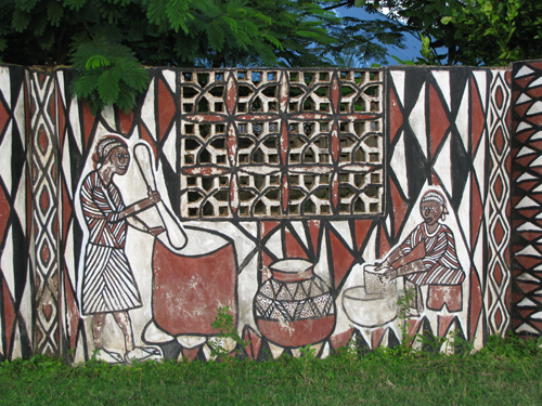 sirigu,upper east region,traditional art