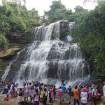 Kintampo Waterfalls in Ghana